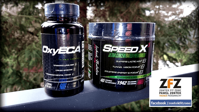 [miniRECENZJA] Lecheek Nutrition | Speed X3 | OxyECA Black