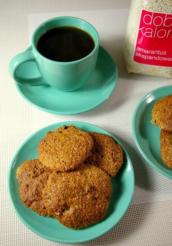 Ciasteczka z amarantusem