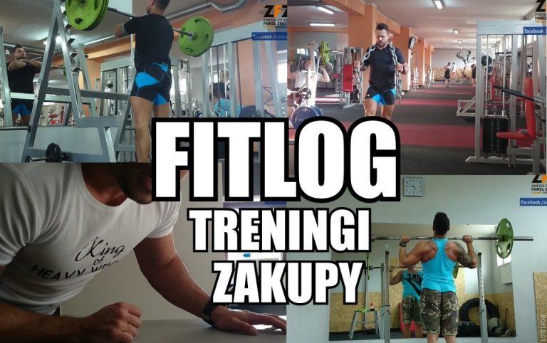 FITLOG #2 | Treningi | Zakupy| ZontekFitZone.pl
