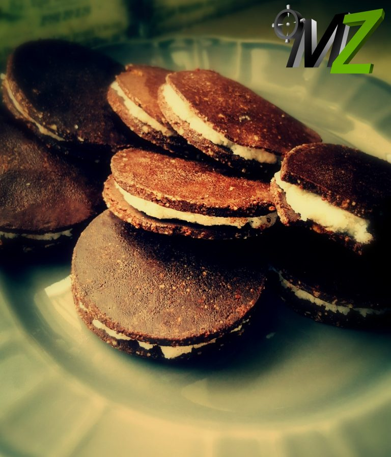 Wegańskie ciastka kokosowo-kakaowe bez pieczenia
