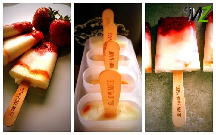 Proste lody dwuskładnikowe! Jogurt i owoce