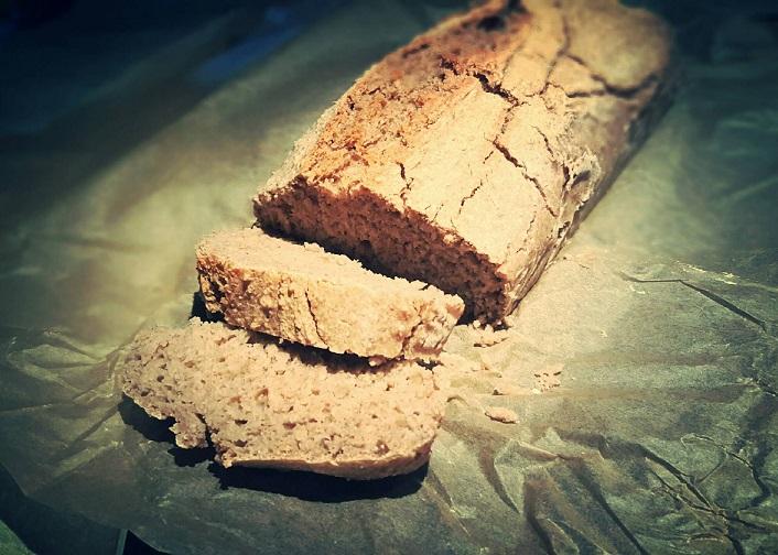 Chleb owsiany na zakwasie (bezglutenowy!)