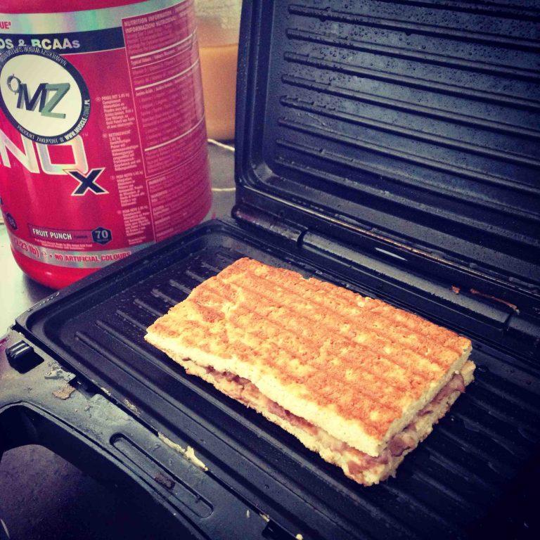 proteinowe kanapeczki – wersja na słodko