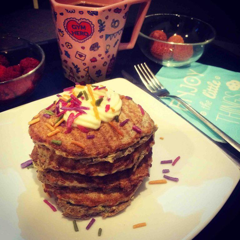 kolejny omlet białkowo-tłuszczowy na śniadanie:)