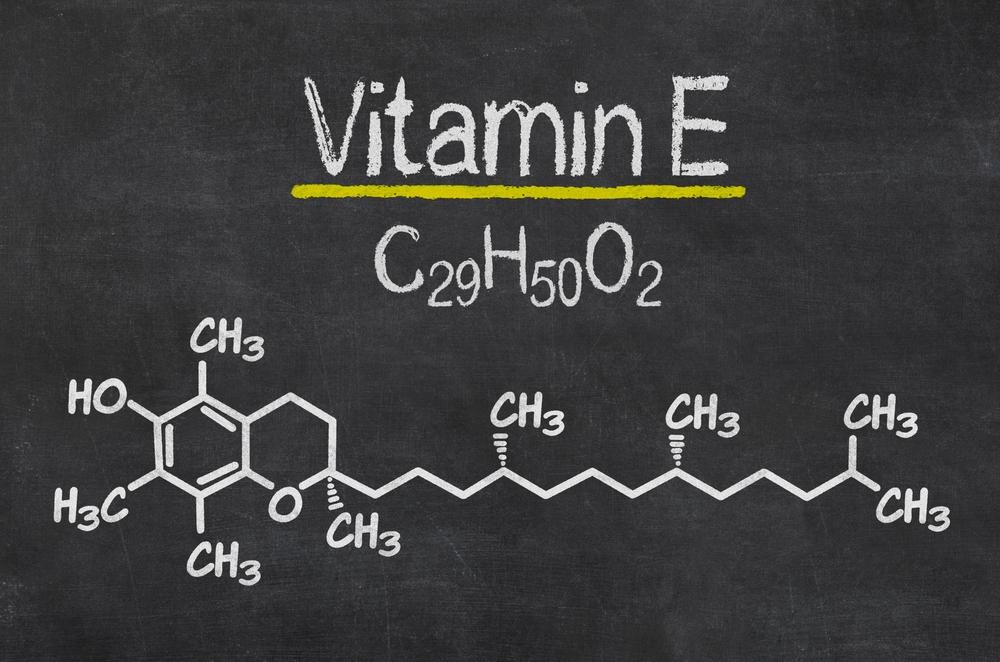 Wzór strukturalny witaminy E