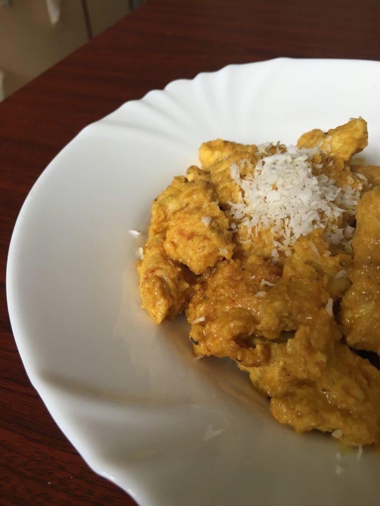 Kurczak w kokosowej panierce