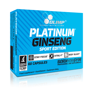 Olimp wypuszcza kolejny produkt na rynek – Platinum Gingseng