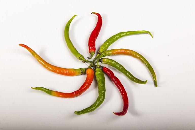 Papryczki chili: wartości odżywcze i korzyści zdrwotne.