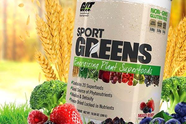 Sport Greens – ponad 8g z 20 różnych superfoods