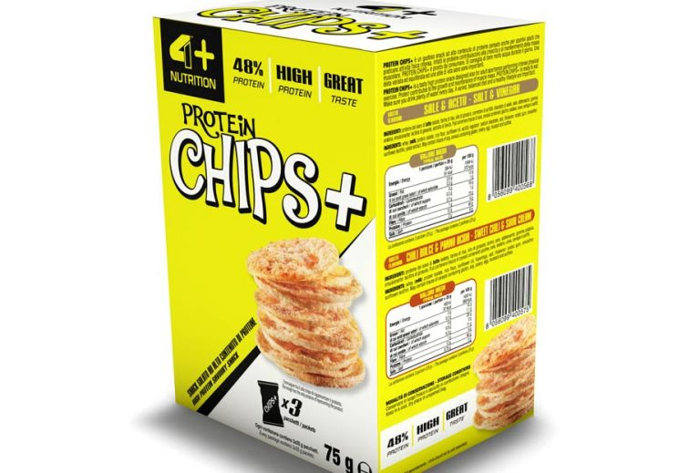 Proteinowe chipsy od 4+ Nutrition!