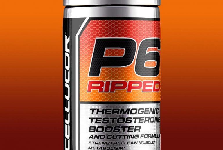 P6 Ripped – mix boostera testosteronu oraz spalacza od Cellucor!