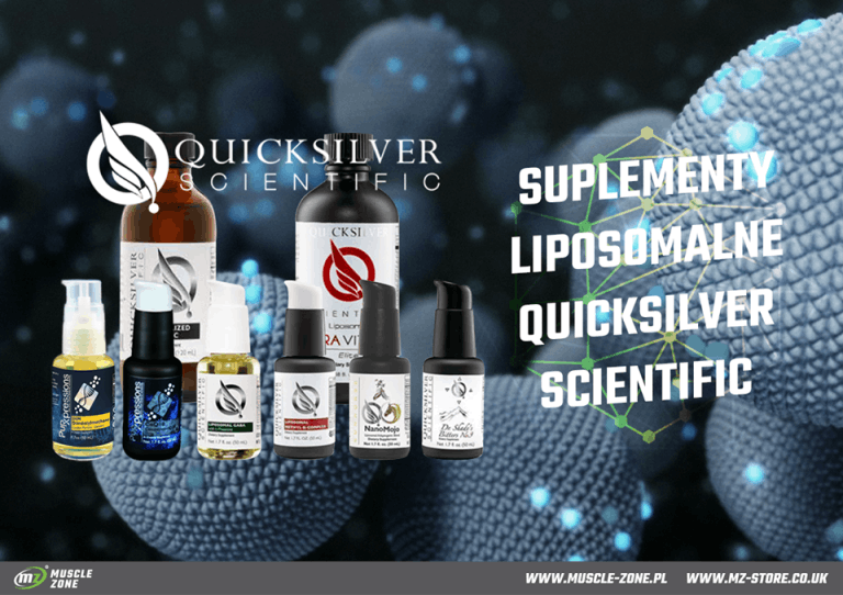Suplementy w formie liposomalnej – Quicksilver Scientific