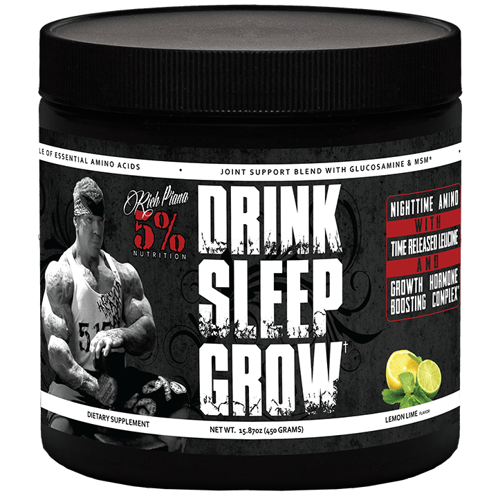 Drink Sleep Grow – nowość od Rich Piana 5% Nutrition