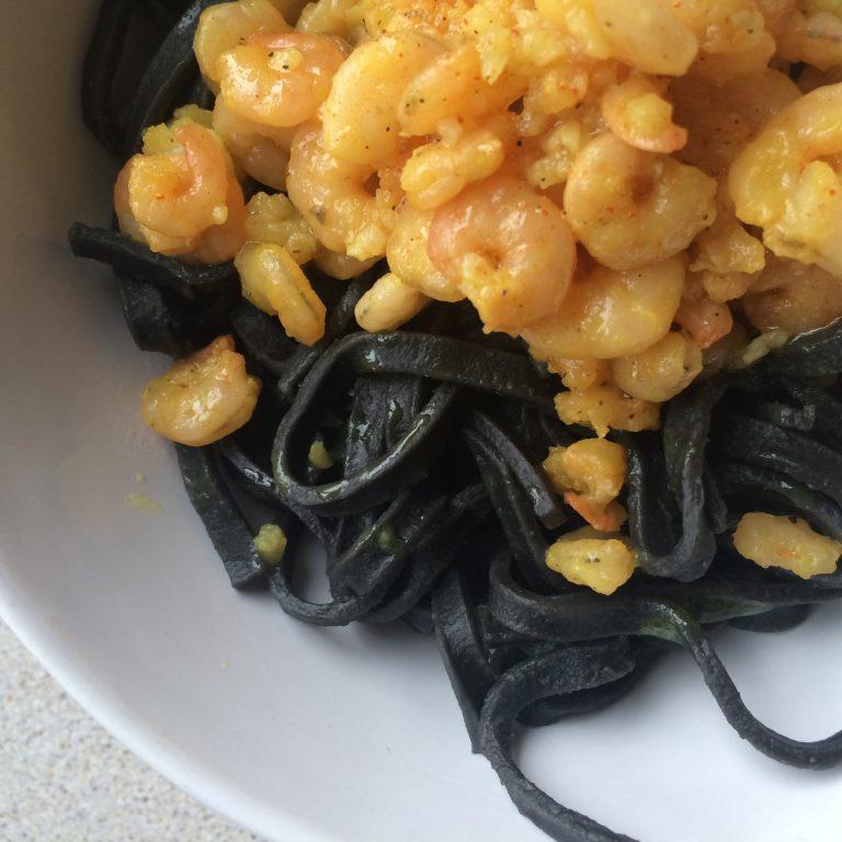 Pomysł na… obiad z krewetkami :)