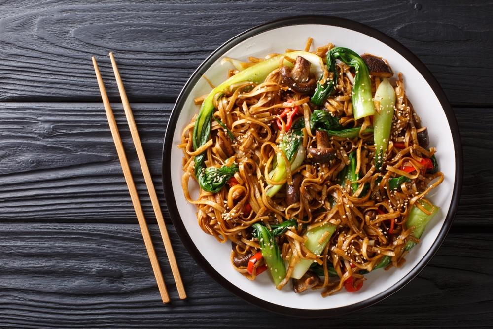 Shiitake to stały element kuchni azjatyckiej