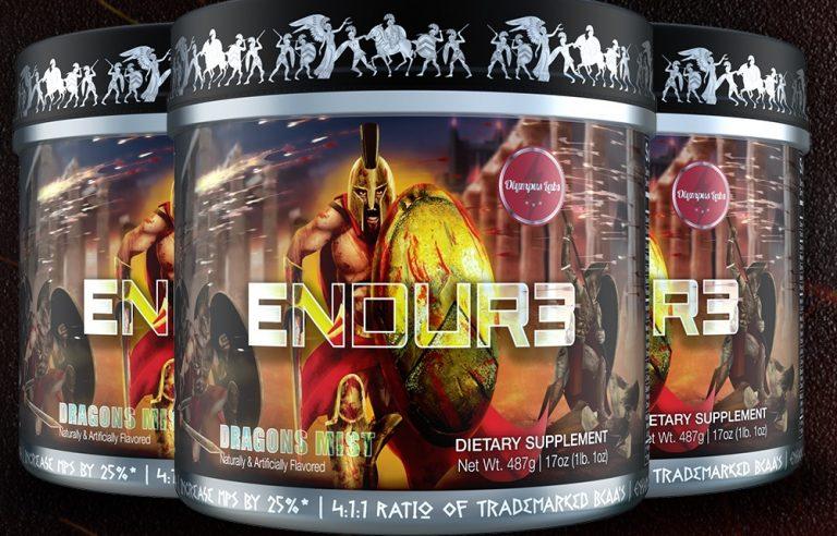 Nowość od Olympus Labs – Endur3! Nowatorska formuła dla jeszcze lepszej regeneracji!