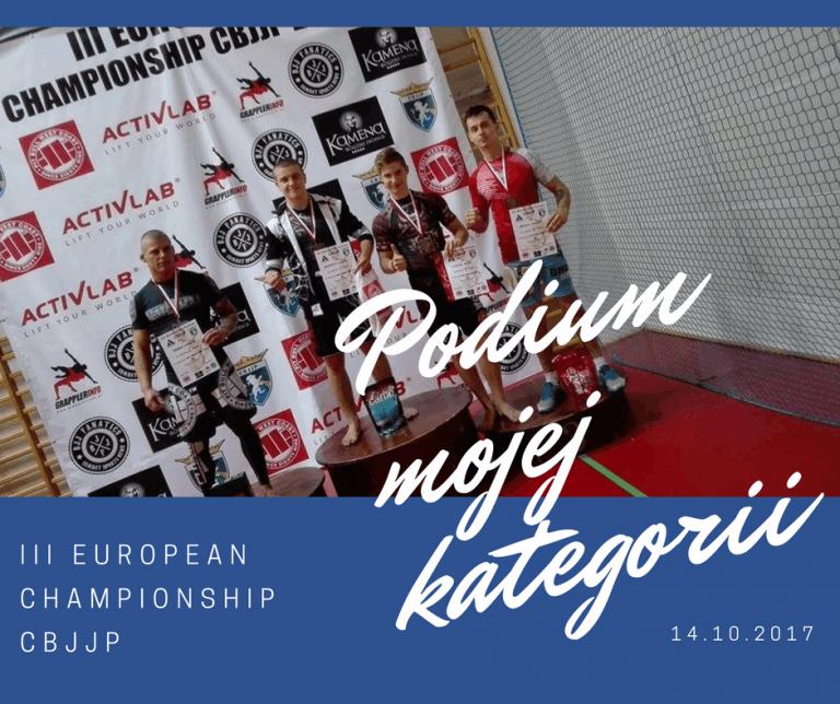 III European Championship CBJJP