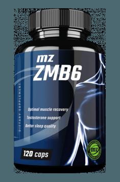 Najbardziej popularnymi suplementami z cynkiem są tak zwane formuły ZMB - suplementy łączące magnez, cynk oraz witaminę B6. Spróbuj nowości od MZ Store - ZMB6 - łączącą te 3 substancje!