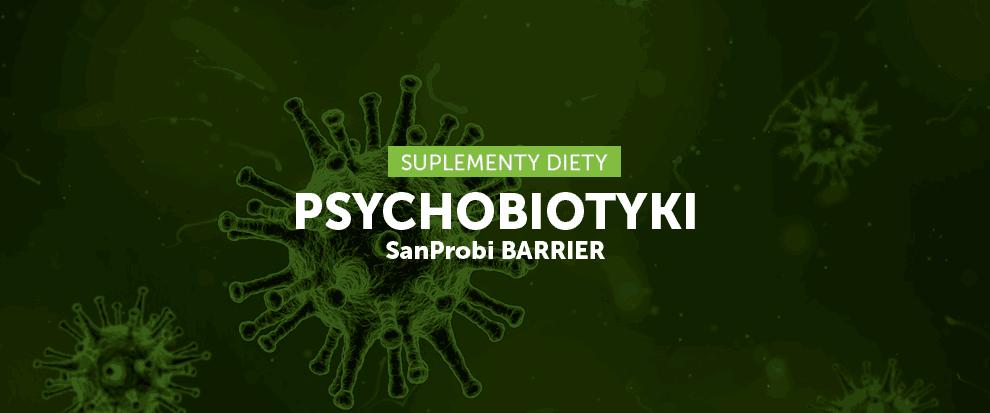 Psychobiotyki SanProbi Barrier