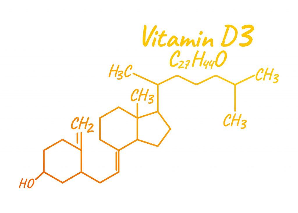 Wzór chemiczny Witaminy D