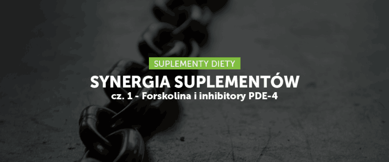 Synergia suplementów cz. 1 – Forskolina i inhibitory PDE-4