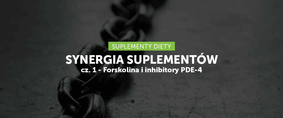 Synergia suplementów cz. 1 - Forskolina i inhibitory PDE-4