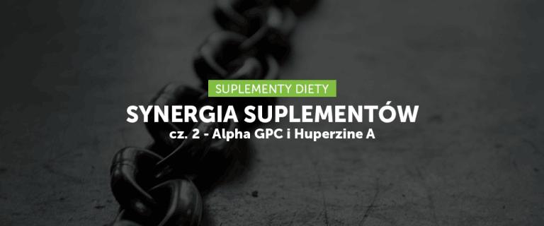 Synergia suplementów cz. 2 – Alpha GPC i Huperzine A