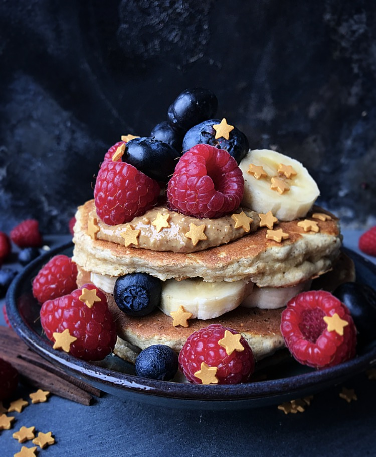 Pomysły na podanie proteinowych pancakes