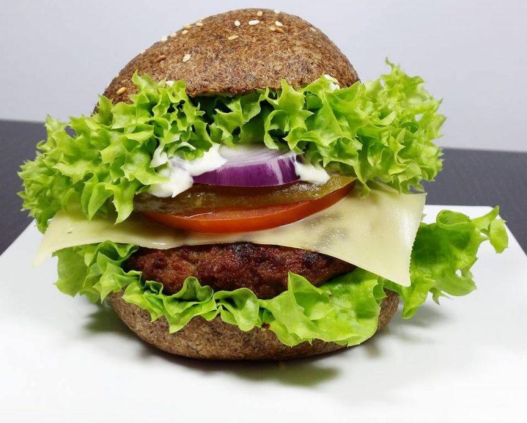 KETO HAMBURGER (keto, LCHF, paleo, bez glutenu i jajek)