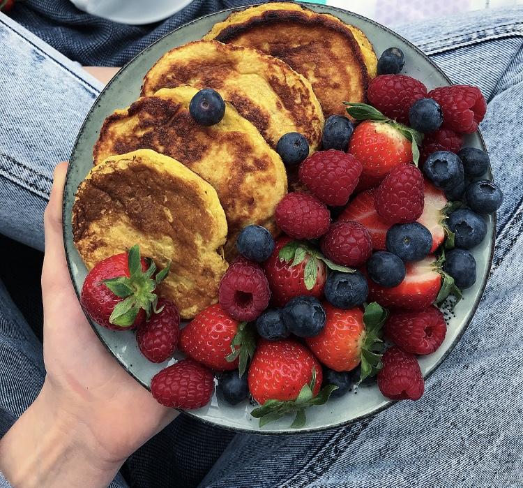 Bananowe placuszki – bez cukru i glutenu