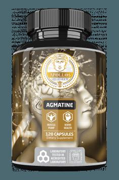 Apollo's Hegemony Agmatine 500 mg 120 kaps.