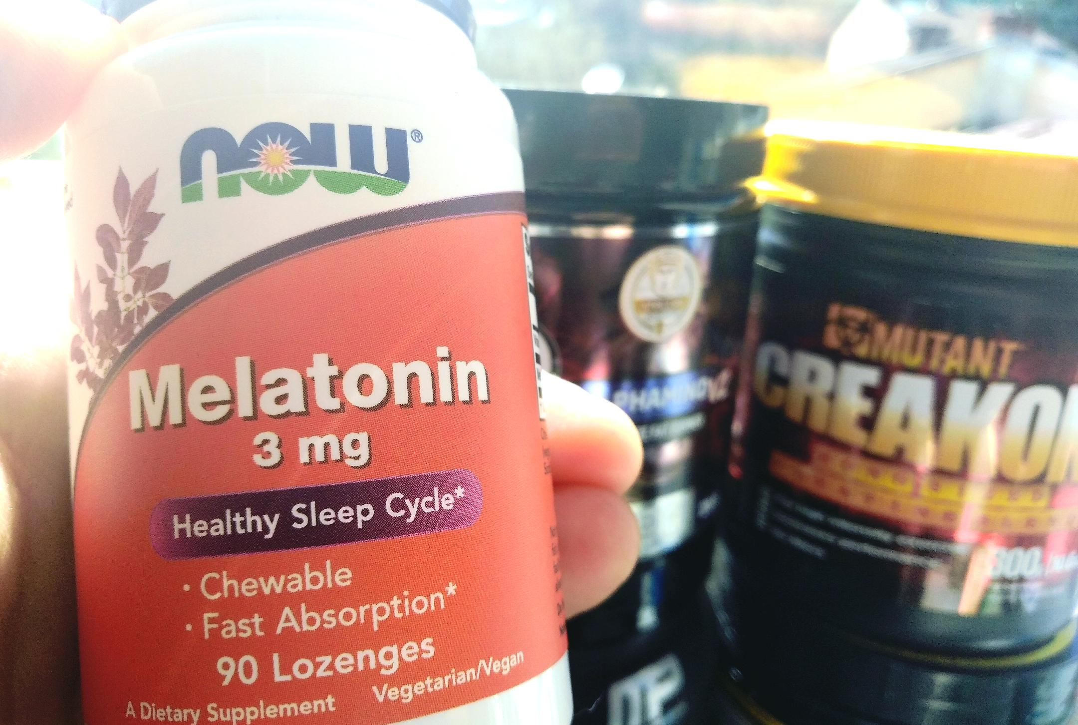 Melatonina stosowana przed treningiem - Melatonina jako ergogenik