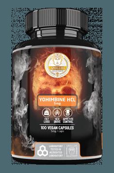 Apollo's Hegemony Yohimbine HCl - najczęściej polecana Johimbina na rynku!