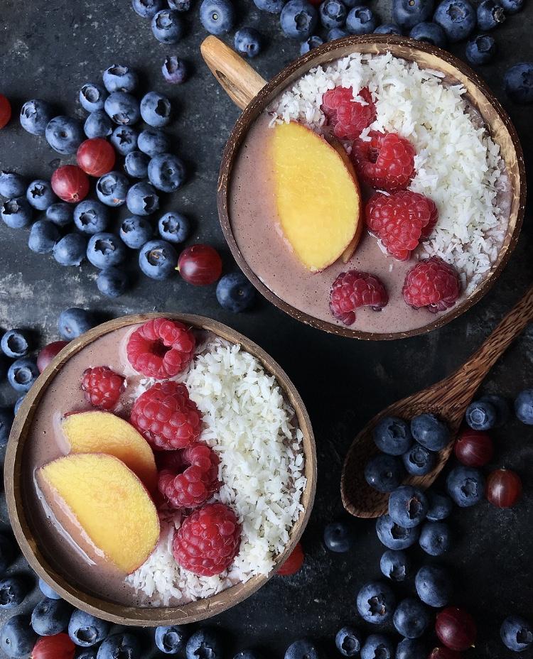 Niskokaloryczny deser białkowy