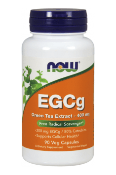 NOW Foods EGCG 400 mg 90 caps.