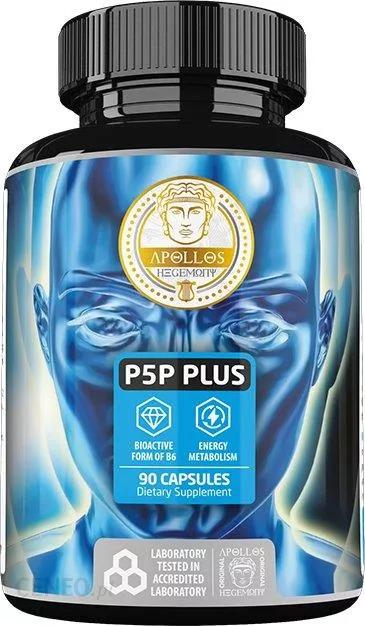 Rekomendowana witamina B6 w optymalnej formie P5P (fosforan pirydoksalu) - Apollo's Hegemony P5P Plus