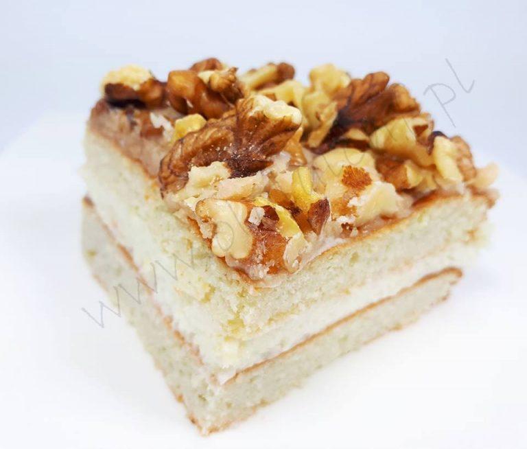 CIASTO ORZECHOWO-KARMELOWE (keto, LCHF, paleo, bez glutenu, laktozy i cukru)