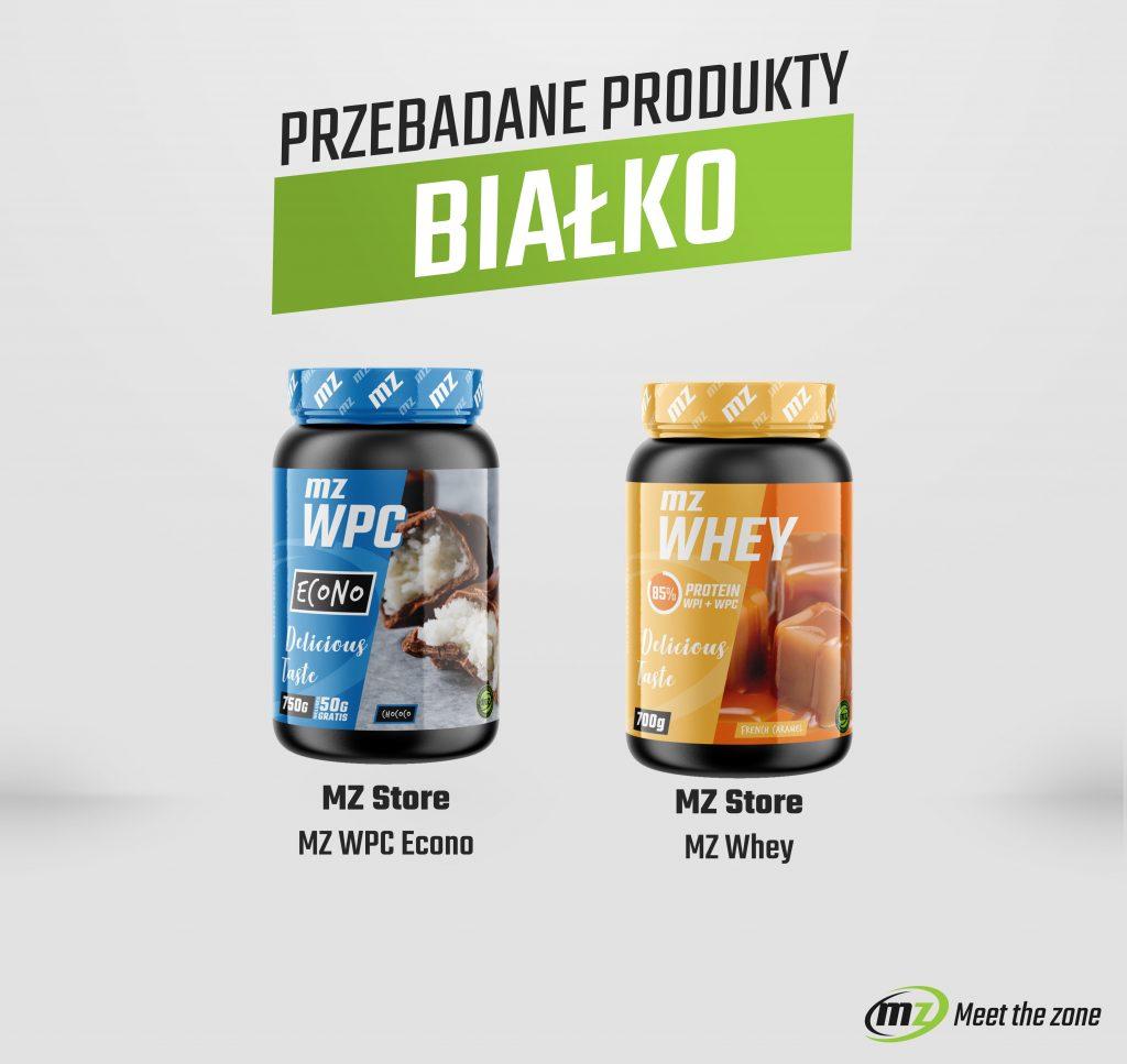 Przebadane odżywki białkowe