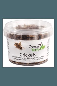 Crunchy Critters - Crickets 20 g