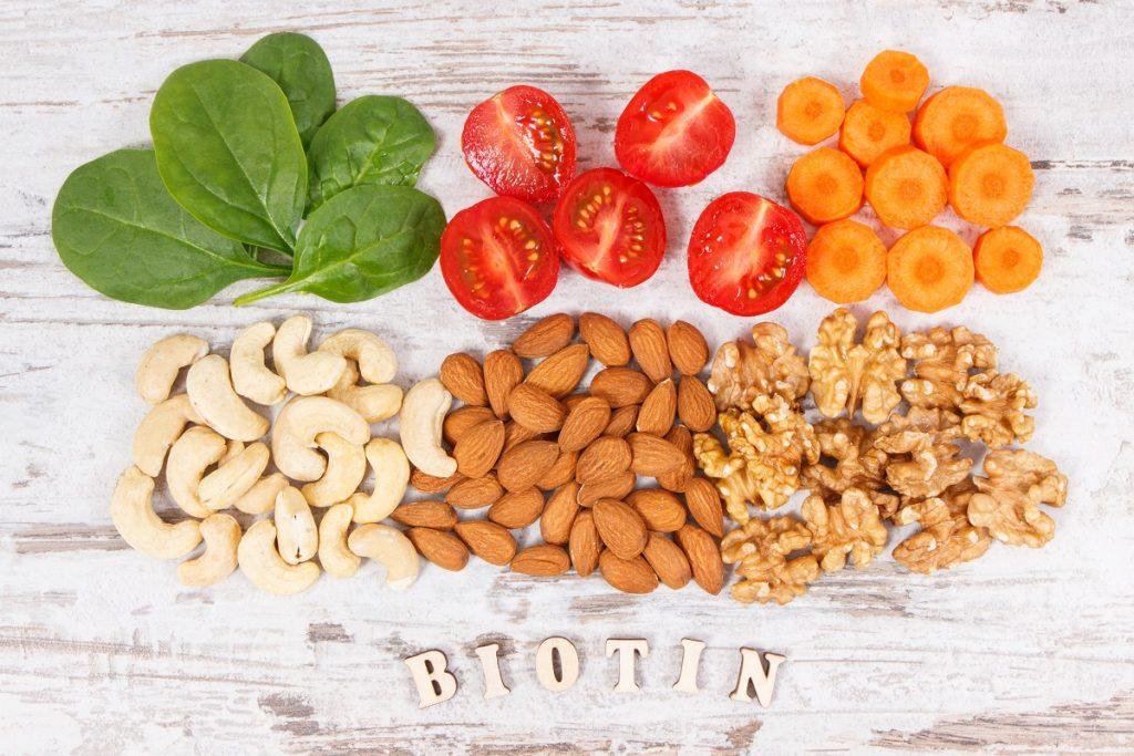 Główne źródła biotyny w żywności