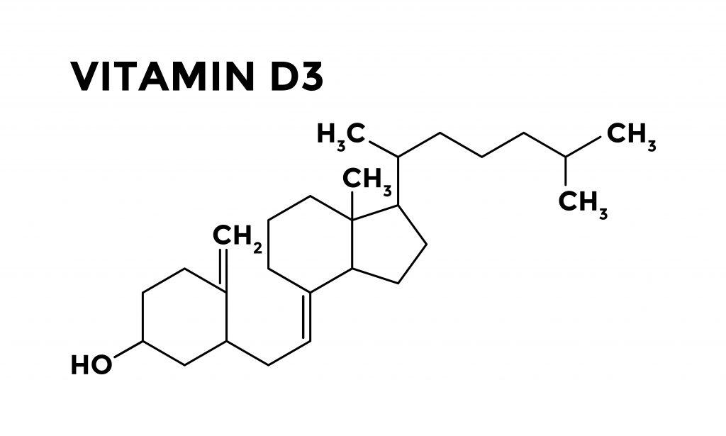 Wzór witaminy D3