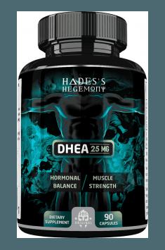 Rekomendowany suplement zawierający wysoką dawkę DHEA - DHEA Hades Hegemony. Aż 25 miligramów DHEA na kapsułkę!