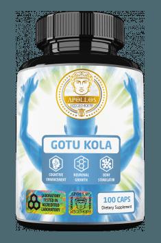 Rekomendowany suplement zawierający wysoko standardyzowany ekstrakt z Gotu Koli - Gotu Kola od Apollo Hegemony