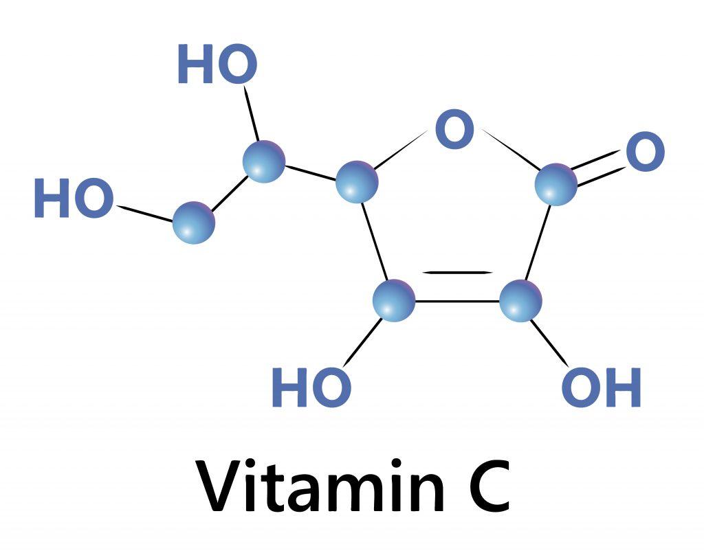 Wzór strukturalny witaminy C