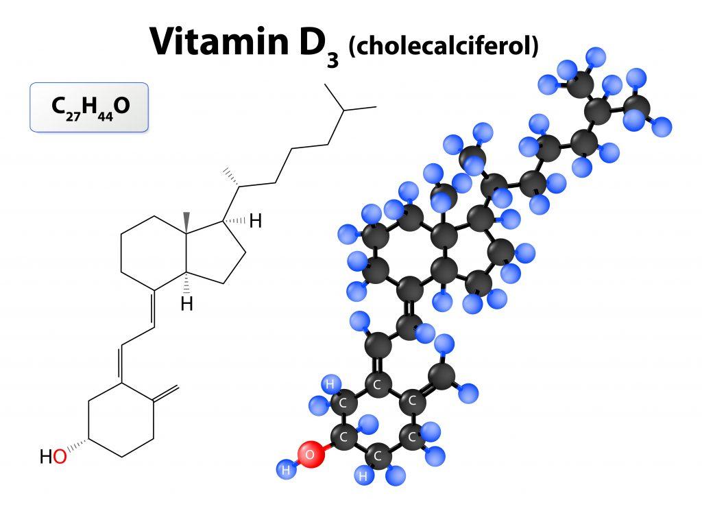 Wzór strukturalny witaminy D