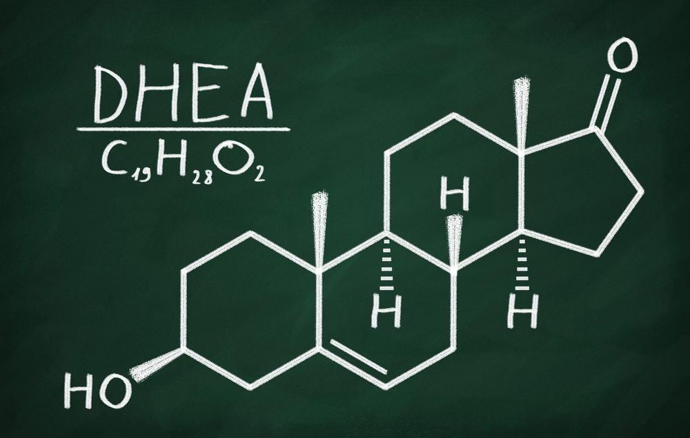 Wzór strukturalny DHEA
