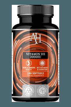 Rekomendowany suplement zawierający wysoką dawkę witaminy D - Vitamin D3 od Apollo Hegemony