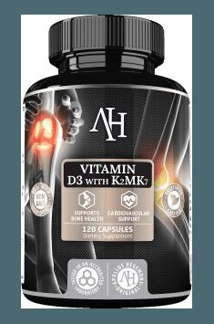 Vitamin D3 & K2 MK7 od Apollo Hegemony - klinicznie przebadany suplement diety