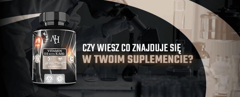 #4 Badania suplementów diety – witamina D3&K2mk7