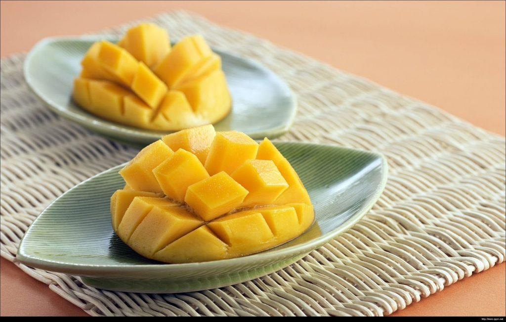 Mango zawiera wiele substancji odżywczych, w tym polifenoli.